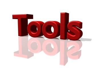 Tools Schriftzug