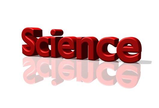 Science Schriftzug