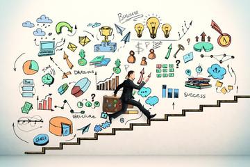 Success and seminar concept