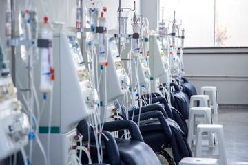 hemodialysis room equipment