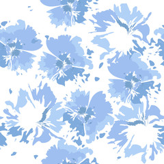 79ed994e Tie dye background. Seamless hand drawn pattern tie dye shibori print. Ink  textured background