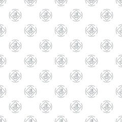 Tattoo pictogram pattern vector seamless repeat for any web design