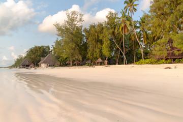 plaża na Zanzibar