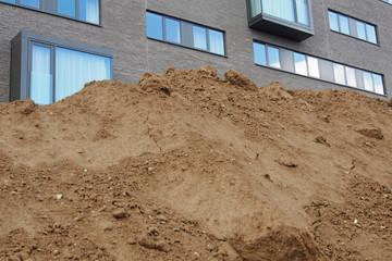 Baustelle Wohnungsbau, Neubau