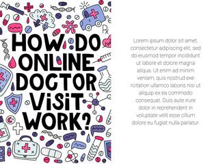 How do online doctor visit work?