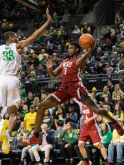NCAA Basketball: Washington State at Oregon