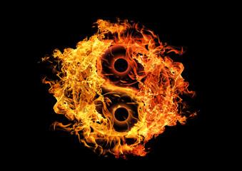 炎の太極図