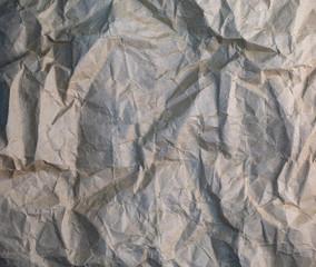 texture, vintage, wrinkled dark paper. background of crumpled paper