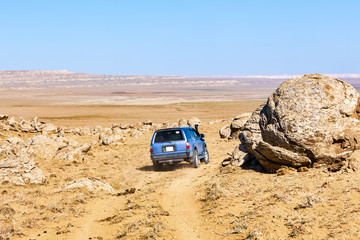The Mysterious Round Rocks of Torysh in Mangystau, Kazakhstan