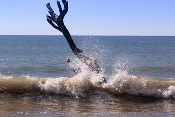 beach ocean water