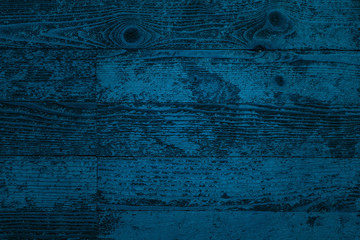 blue artistic texture of vintage parquet close-up wooden planks with natural patterns