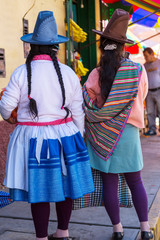 Foto op Canvas Zuid-Amerika land Peruvian people