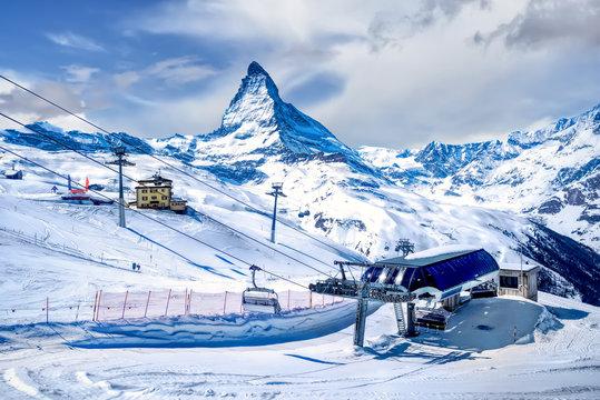 Gornergrat, Matterhorn, Switzerland