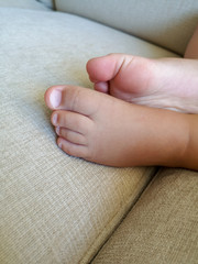 body part human Baby Young child childhood barefoot foot babyhood indoors one person leg close-up hand low section