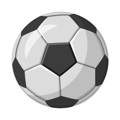 Vector illustration of soccer and gear icon. Collection of soccer and tournament vector icon for stock.