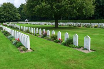 Britischer Ehrenfriedhof im Reichswald bei Goch