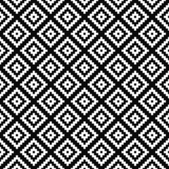 Vector seamless geometric pattern. Black-and-white background. Monochrome design. Vector EPS 10