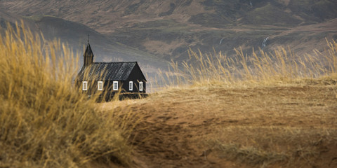 Buoir Church, Snaefellnes, Iceland