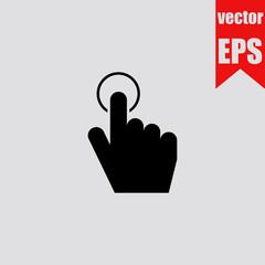 Door bell icon.Vector illustration.