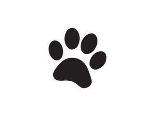 cat and dog paw print vector illustration