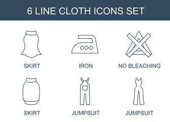 cloth icons