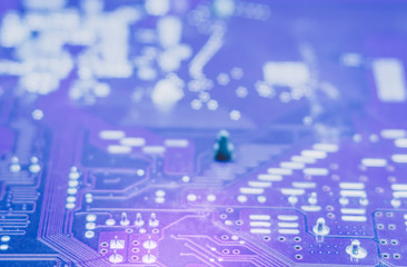 computer chips close-up