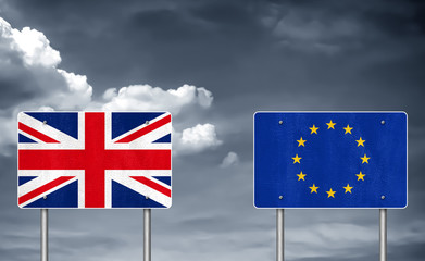 Brexit between United Kingdom and the European Union