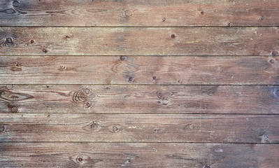 Bright old wood texture with knotholes. Abstract background.