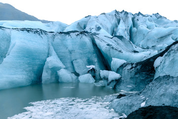 Myrdalsjokull Glacier Iceland