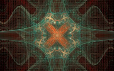 digital generated image in the form of abstract geometric shapes of various shades and colors for use in web design and computer graphics