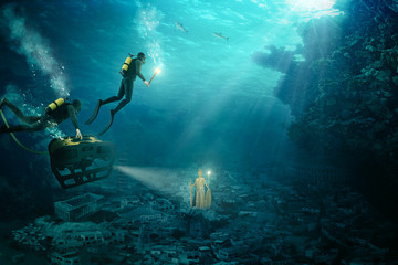 The discovery of Atlantis