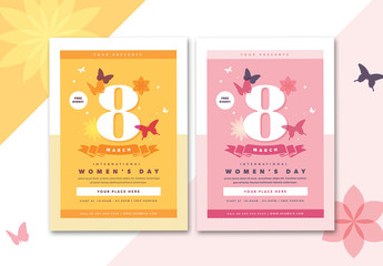 International Women's Day Flyer Layout