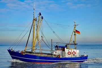 Fischkutter bei Cuxhaven