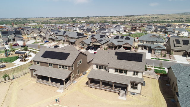 New Solar Home In Colorado