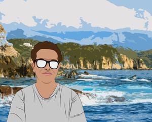 De visita al mar