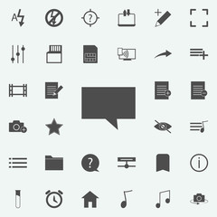 sign of the message icon. web icons universal set for web and mobile