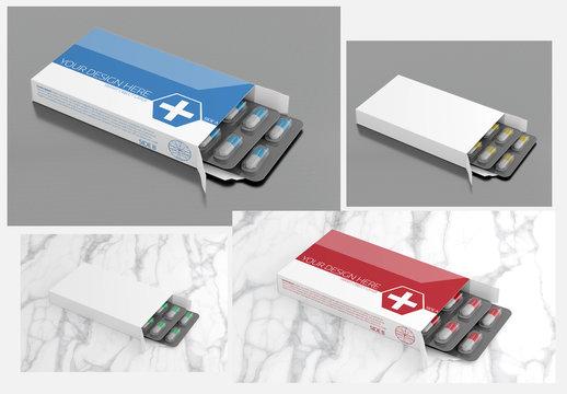 Pharmaceutical Packaging Mockup