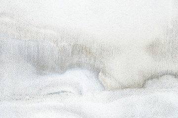 Close up of a white marble textured wall Wall mural