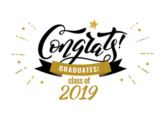 Congrats Graduates class of 2019 graduation congratulation party