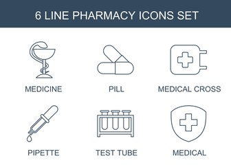 6 pharmacy icons