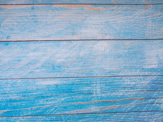 Blue wood background texture background