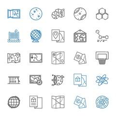 sphere icons set
