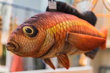 Deko-Fisch aus Stoff