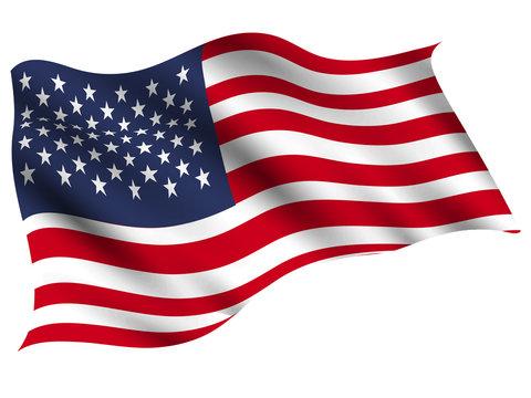 アメリカ  国 旗 アイコン