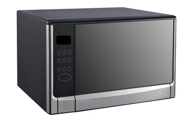 microwave isolated on white background