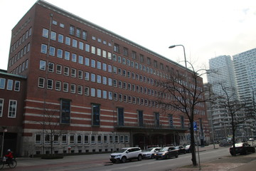 building of the Ministry of Economy and climate, Ministry of agriculture nature and food safety in Den Haag, the Netherlands