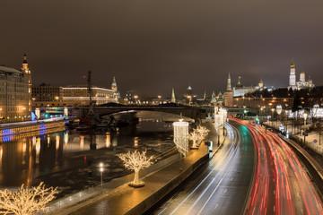 Silvester und Neujahr in Moskau