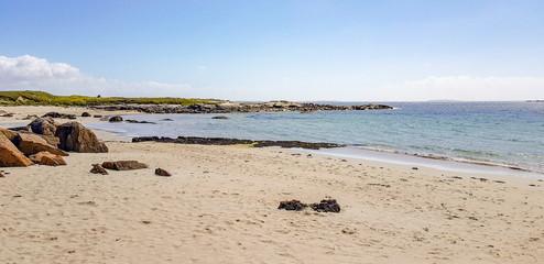 sunny coastal scenery
