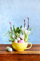 Easter deoration holiday concept