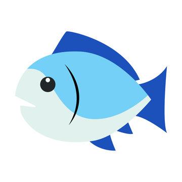 Fish emoji vector